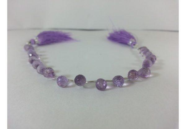 amethyst teardrops beads