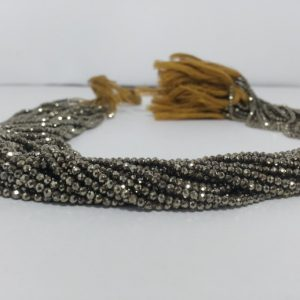 2mm pyrite beads