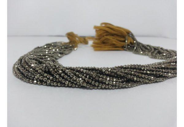 2mm pyrite beads