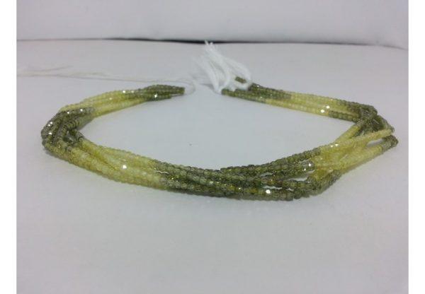 green cubic zirconia beads