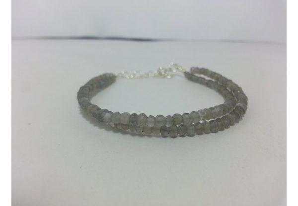 gray moonstone bracelet