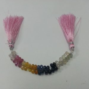 sapphire drops beads