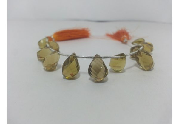 twisted drops beads