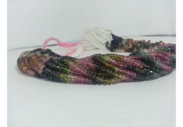 aaa multi tourmaline beads