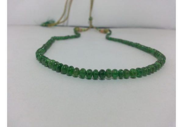 tsavorite garnet necklace