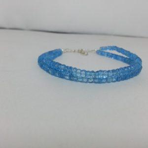 sky blue topaz bracelet