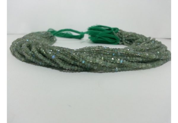 green labradorite beads