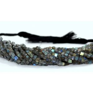 labradorite box beads