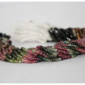 watermelon tourmaline beads