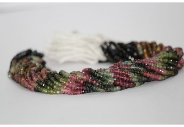 watermelon tourmaline beads