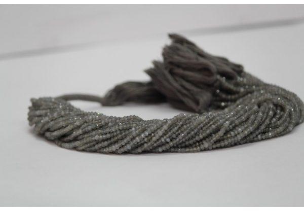 gray moonstone beads