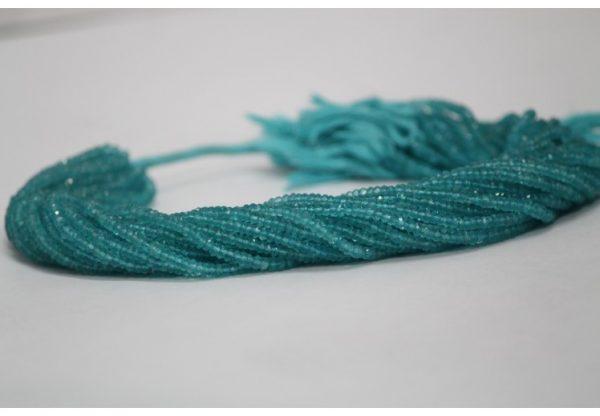 blue apatite beads