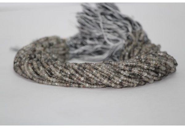 black rutile beads