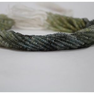 moss aquamarine beads