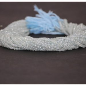 blue aquamarine beads