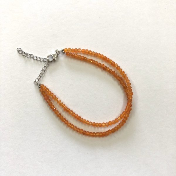 carnelian beads bracelet