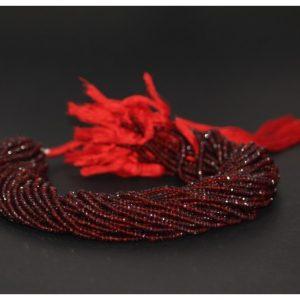 aaa red garnet beads