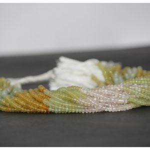 multi beryl beads