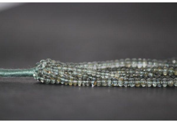 moss aquamarine smooth beads