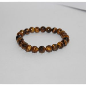 8mm tiger eye round beads