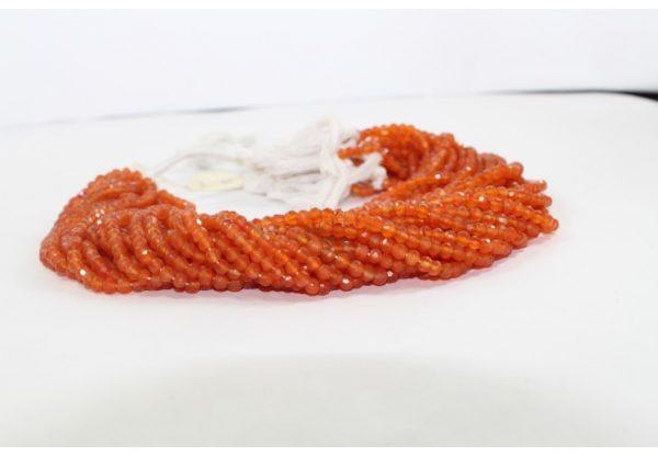 carnelian round beads