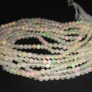opal round beads