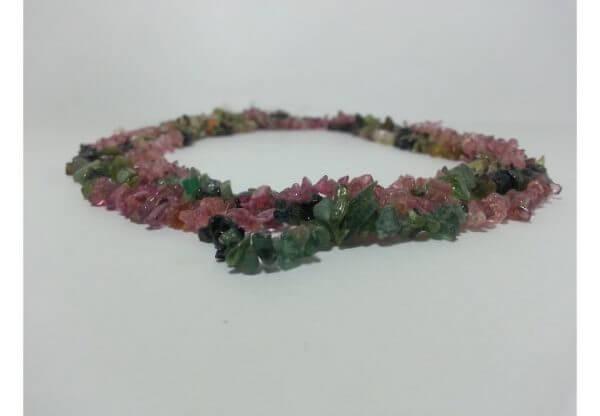 tourmaline uncut beads