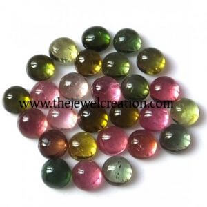 4mm multi tourmaline round