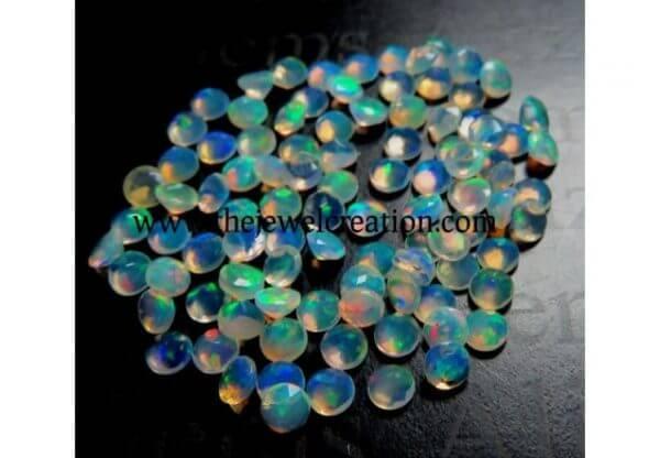 4mm ethiopian opal gemstone