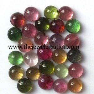 5mm multi tourmaline round