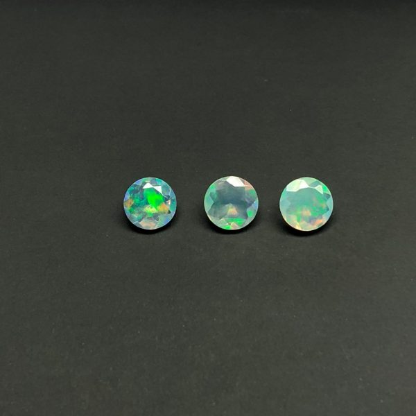 6mm ethiopian opal gemstone