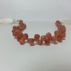 moonstone drops beads