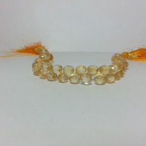 citrine onion beads