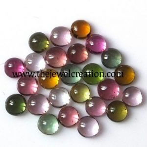 3mm multi tourmaline round