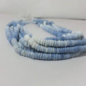 opal heishi beads