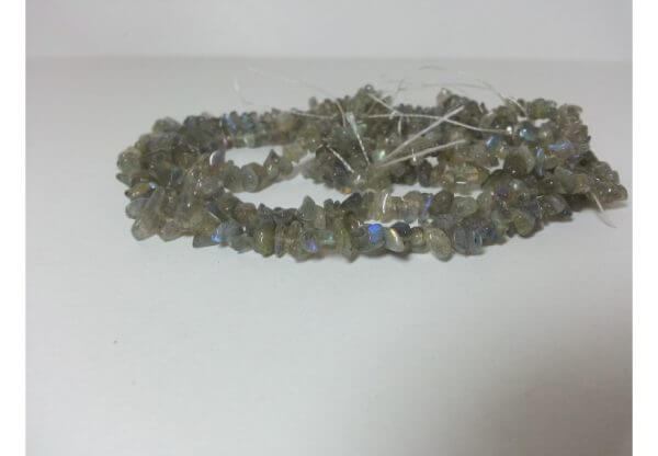 labradorite chips beads