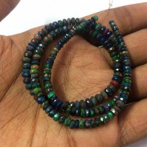 black ethiopian opal