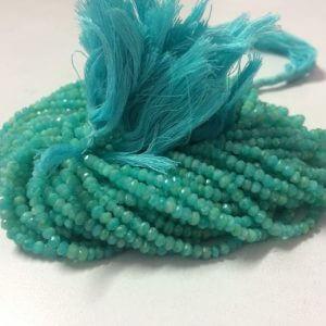 4mm amazonite beads