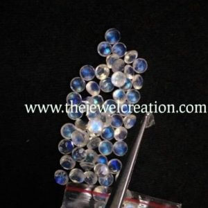 4mm rainbow moonstone round lot