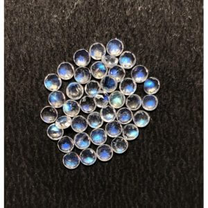 4mm rainbow moonstone round