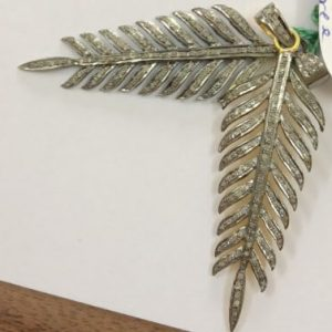 peacock feather charms