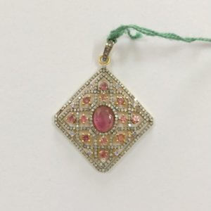 tourmaline diamond charms