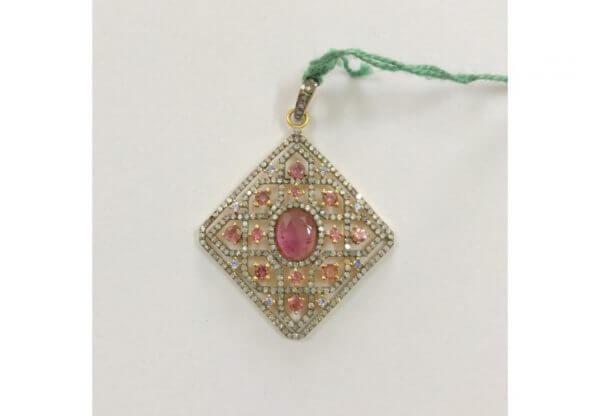 tourmaline diamond charms