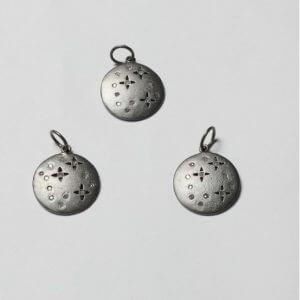 round diamond pendants