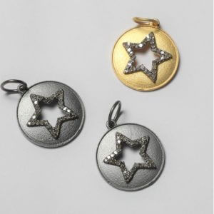 star diamond charms