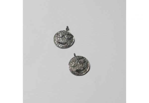smiling face charms