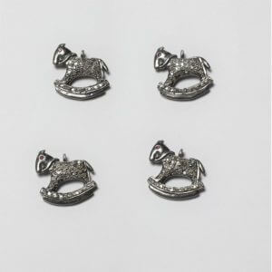 horse diamond charms
