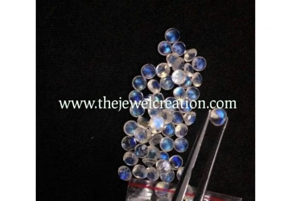 6mm rainbow moonstone