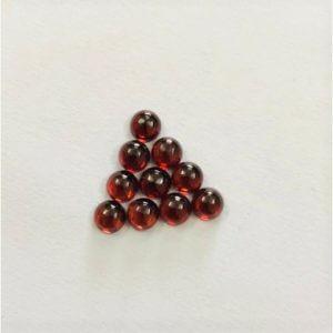 4mm red garnet round