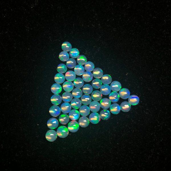 4mm ethiopian opal